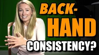 How To Hit a Consistent Backhand Ask Kirby #1