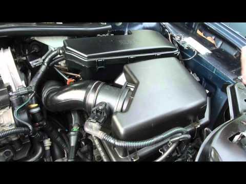 Change MAF - Mass Air Flow Meter / Sensor Volvo XC90 - YouTube