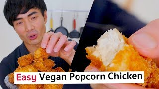 Vegan Popcorn Chicken (From Frozen Tofu) | PicniclyNOW