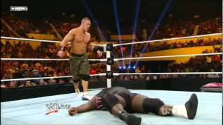 12/12/11 John Cena vs Mark Henry
