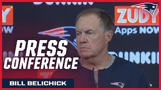 "Bill Belichick: ""We need to start getting ready for Pittsburgh"""