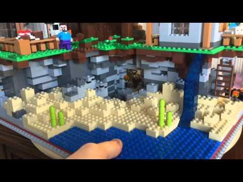 MarklegoboyVlogs #224 - Лего Майнкрафт! Ферма, пещера и домик!