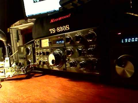 Kenwood TS-830S on 20 meters USB
