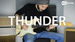 Download Lagu Imagine Dragons - Thunder - Electric Guitar Cover by Kfir Ochaion Gratis STAFABAND