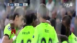 اهداف مباراة ريال مدريد و سبورتينج لشبونة 2-1 دوري الأبطال 2017 ( 14-9-2016)