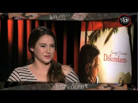 Shailene Woodley, Judy Greer & Matthew Lillard Uncensored on The Descendants