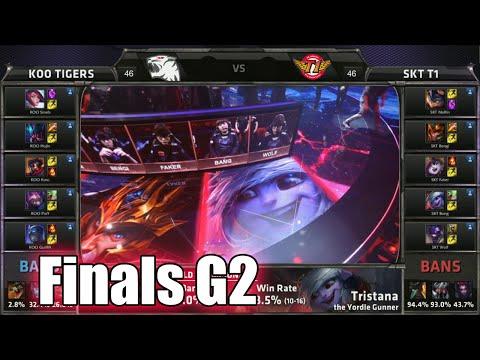 SK Telecom T1 vs KOO Tigers | Game 2 Grand Finals LoL S5 World Championship 2015 | SKT vs KOO G2