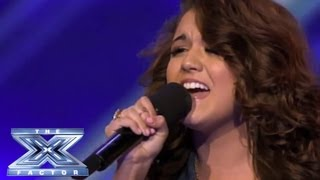 Rylie Brown - Forgets the Lyrics at First BUT... - THE X FACTOR USA 2013
