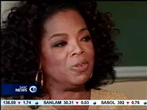 Oprah celebrates 100% pass rate at her Leadership Academy for girls