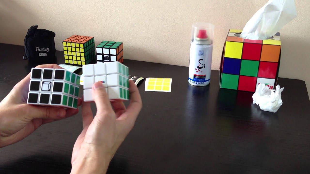 Чем смазать кубик рубик в домашних условиях 450