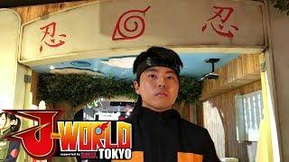 J-World Tokyo Anime Vlog