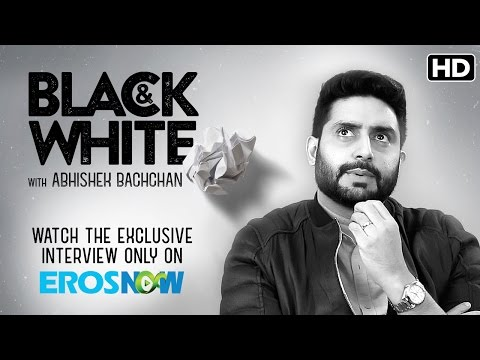 Catch Abhishek Bachchan On Black & White - The Interview
