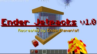 Minecraft One Command | Ender Jetpacks v1.0 | EnderElement