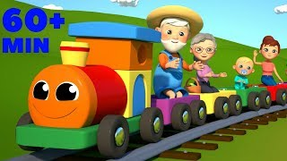 The Farmer in the Dell | The Wheels on the Bus | Top Rhymes Compilation From SmartBabySongs
