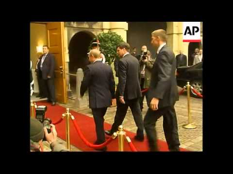 Putin arrives for EU summit amid Ukraine crisis