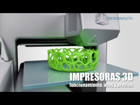 Impresoras 3D: Funcionamiento, usos y precios