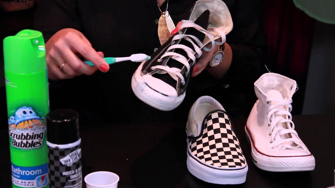 how to clean canvas shoes without shoe cleaner shoes