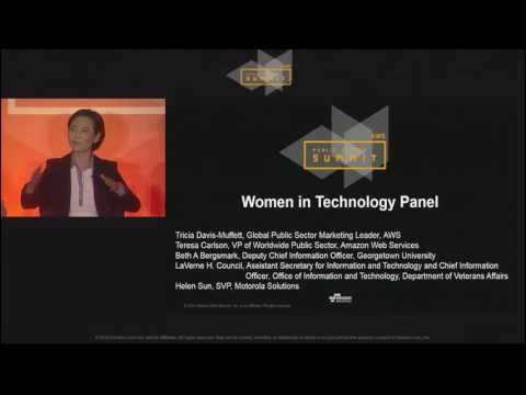 Women in Technology Panel | AWS Public Sector Summit 2016