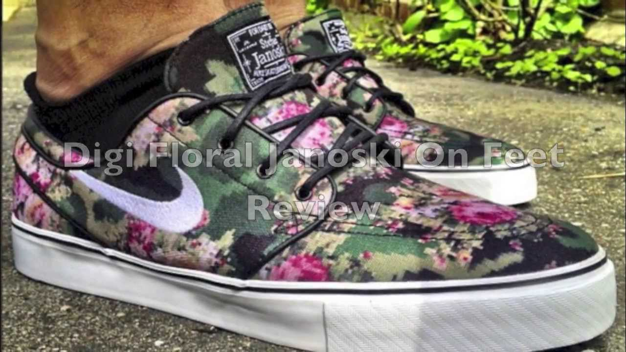 Floral Nike Shoes