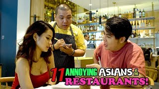 11 Annoying Asians at the Restaurants!