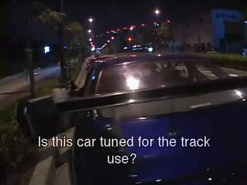 Wangan racing - Team Midnight racing in Tokyo Japan