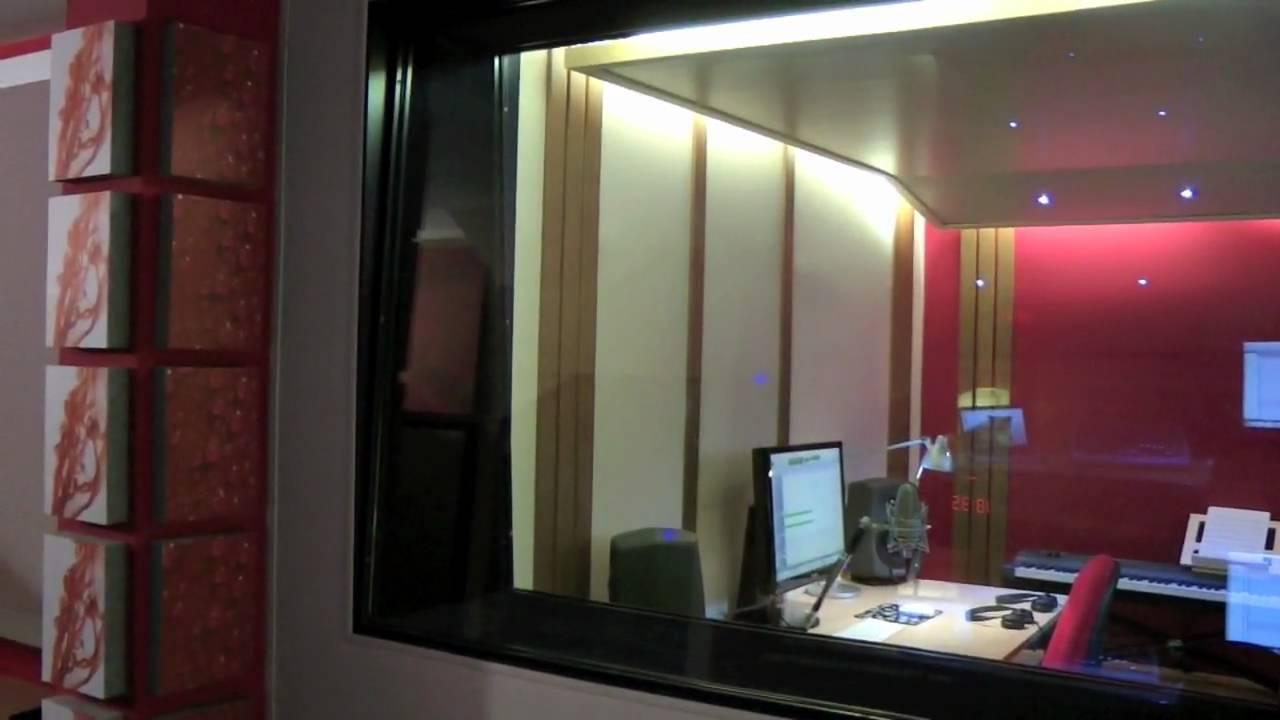 Tour virtuale nello studio di registrazione di marco de domenico youtube - Studio di registrazione casalingo ...