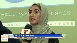 Español: True Islam campaign by Ahmadiyya Muslims in Atlanta, Georgia USA