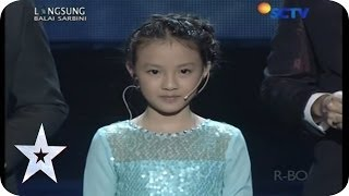 Whisteling Version of Let It Go - Helen Renata Gunawan - SEMIFINAL 4 - Indonesia's Got Talent