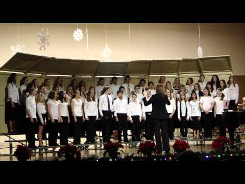 Ellis Middle School 7th & 8th Grade Winter Concert  12/13/11---Early Bird Choir