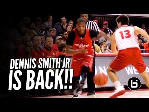 Dennis Smith Jr Making College Look Easy at Primetime with the Pack