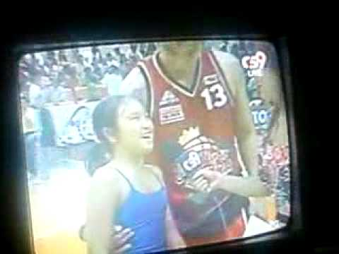 Jayjay Helterbrand and Daughter Jaylyn Game 2 post game interview