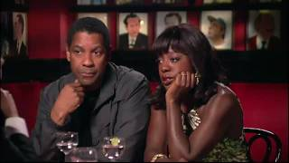 Denzel Washington and Viola Davis in