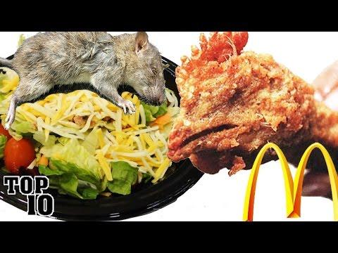 Top 10 Disgusting Things Found In Food