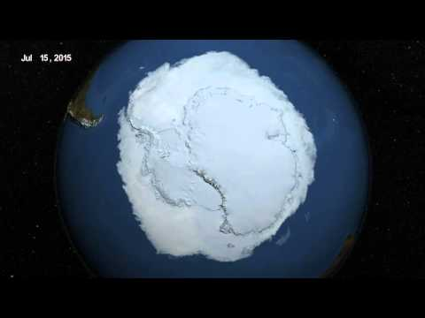 2015 Antarctic Maximum Sea Ice Extent Breaks Streak of Record Highs