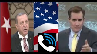 United State, response to Turkish Erdogan s  Call, regarding Kurdish YPG in Rojava- Syria