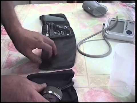 Как отремонтировать манжету тонометра своими руками