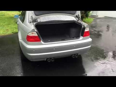 DIY BMW E46 M3 Trunk Rattle Fix