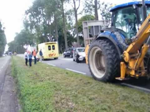 Ongeval op de Provincialeweg N506 Venhuizen