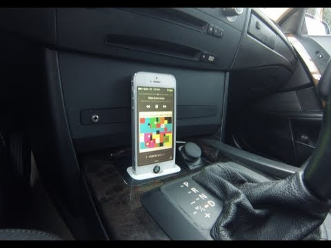 How To Install Spec Dock Iphone 5 5s Dock Bmw E60 5 Series