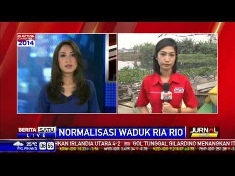 LIVE Warga Waduk Ria Rio Masih Menolak Dipindah