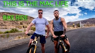 Conor McGregor trains with former Irish champion cyclist THIS IS THE MAC LIFE
