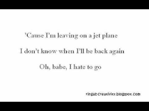 Download mp3 dera idol leaving on the jet plane