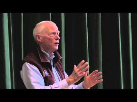 Bob Rheault speaking at Waynflete School - 10/17/2013