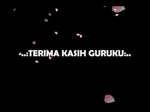 Terima Kasih Guruku Minus One - Afi Junior (lirik) video