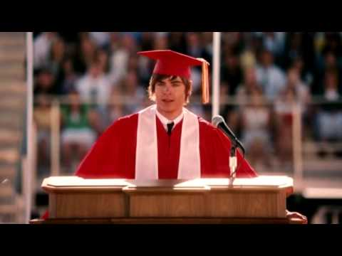 troy 39 s graduation speech high school musical 3 youtube