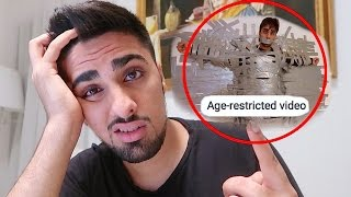 MY VIDEO GOT AGE-RESTRICTED *YOUTUBE DRAMA* !!!