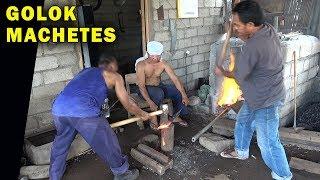 How Blacksmiths make Golok Machetes, 2018 TRAILER