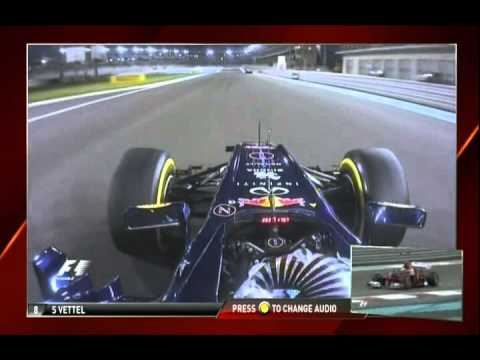 F1 2012 Vettel onboard Q3 in Abu-Dhabi FULL