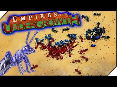 МУРАВЬИНАЯ АТАКА и НОВЫЕ ТЕРРИТОРИИ - Игра Empires of the Undergrowth прохождение.(3 серия)