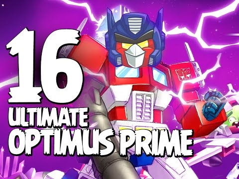 Angry Birds Transformers - Gameplay Walkthrough Part 16 - ULTIMATE Optimus Prime Unlocked